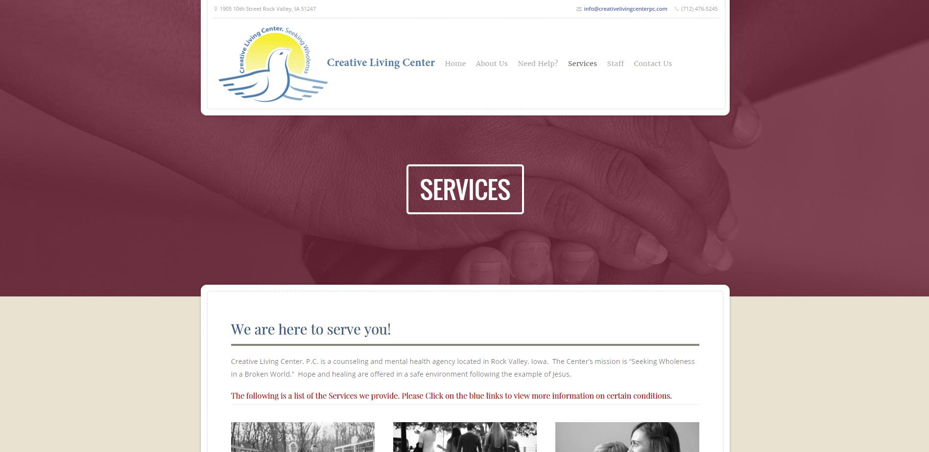 Services   Creative Living Center